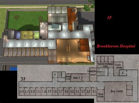 dr silent hospital 3 7 mod the sims brookhaven hospital from silent hill 2