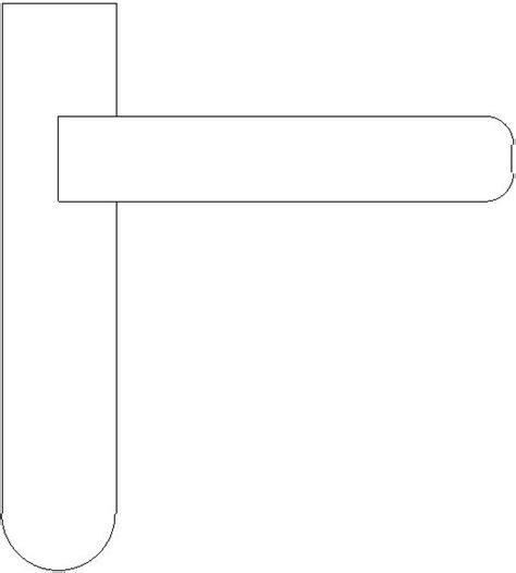 maniglie porte dwg blocchi cad in formato dwg maniglie