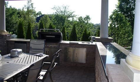 Deck Countertop by Back Deck Granite Countertops Installation Let S Get Stoned