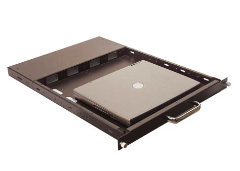 Rack 1u by 1u Rackmount 24 Quot Sliding Rack Shelf