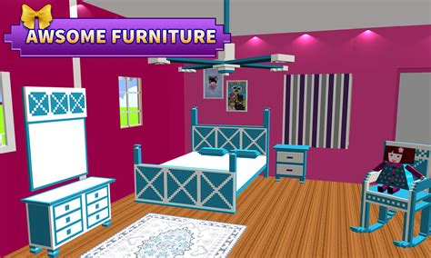 doll house decorating games   room