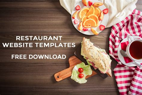 free food powerpoint template 30 responsive html5 bootstrap based free restaurant