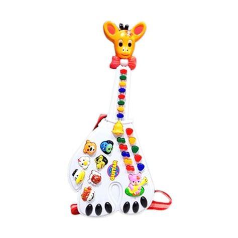 Mainan Gitar Musik Jerapah Lucu jual mao gitar jerapah mainan anak harga