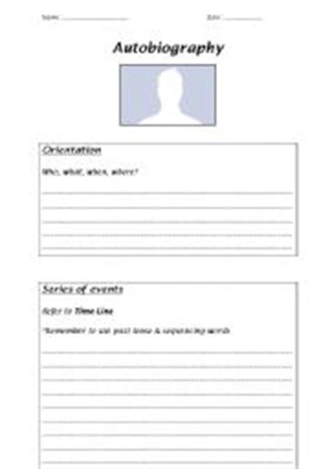 biography worksheet pdf best photos of biography templates for elementary students