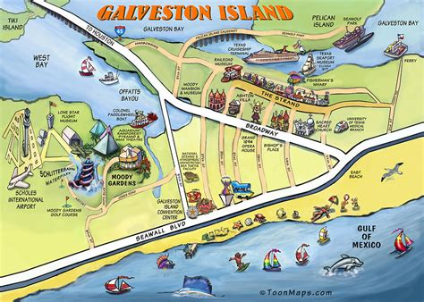 texas map galveston galveston texas map by kevin middleton