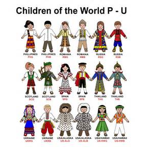 Teacher gift children of the world multicultural kids sign