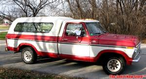 77 Ford F150 Vintage 1977 77 Ford F150 F 150 Ranger W Oem Ford Topper