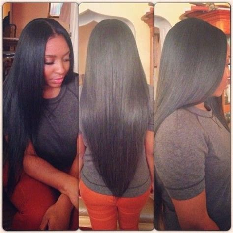 best hair for weave sew ins 17 best ideas about full head weave on pinterest sew in