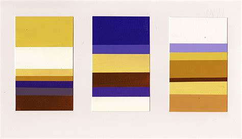 organic vanity gold and blue violet munsell s complementary color scheme project