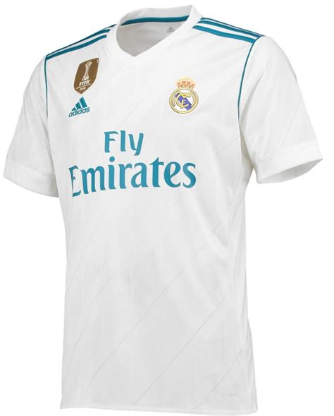 Kaos Blackburn Football new real madrid strips 2017 2018 by adidas home away