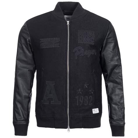 Jaket Adidas By Ar Corp by Adidas Original Run Dmc Homme Blouson Bomber Veste En Cuir