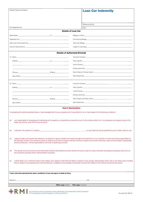 indemnity form template indemnity form free printable documents sport indemnity
