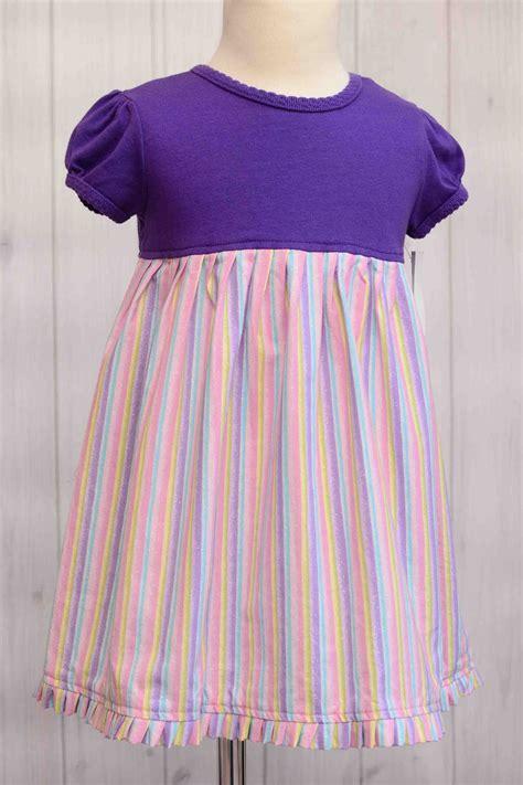 Stripe T Dress Stripe T Shirt Dress Size 24 Months Labor Of Baby