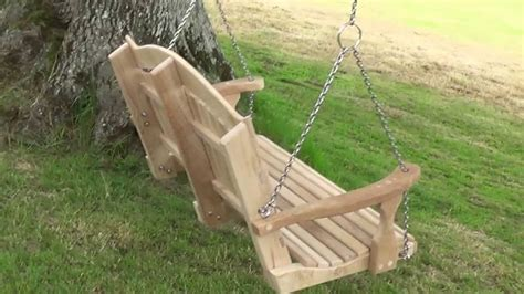 hang tree swing how to hang a swing seat from a tree youtube