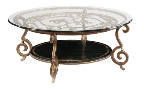 diogo cast iron base glass top accent table 24336 round cocktail table base and glass top bernhardt