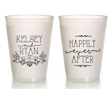 Wedding Favors Cups by New To Siphiphooray On Etsy Personalized Wedding Cups