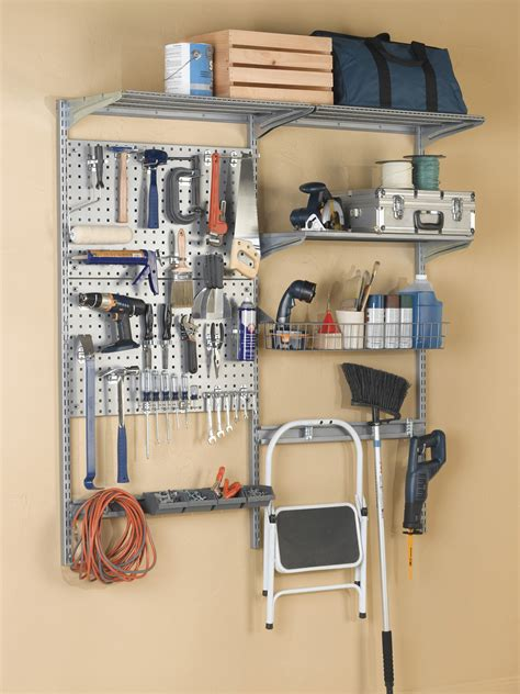 Garage Organization Wall Systems - garage wall systems to keep tools organized storability from triton products tritonproducts com