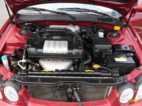 2008 Kia Optima Engine 2006 Kia Optima Lx 2 4 Liter Dohc 16 Valve 4 Cylinder