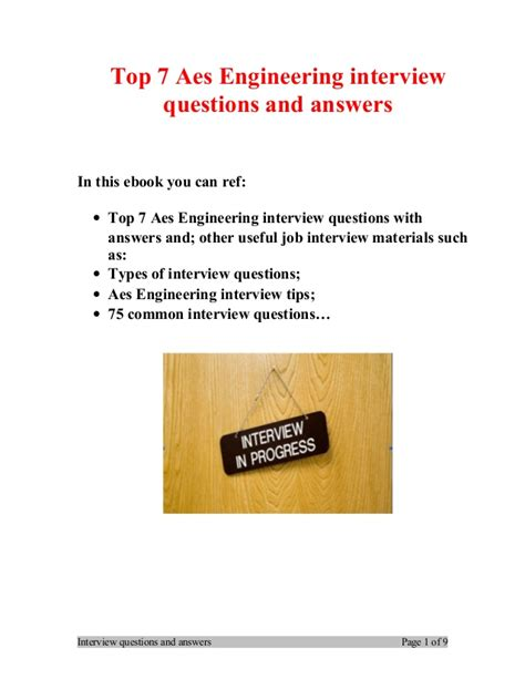 design engineer interview questions and answers top 7 aes engineering interview questions and answers