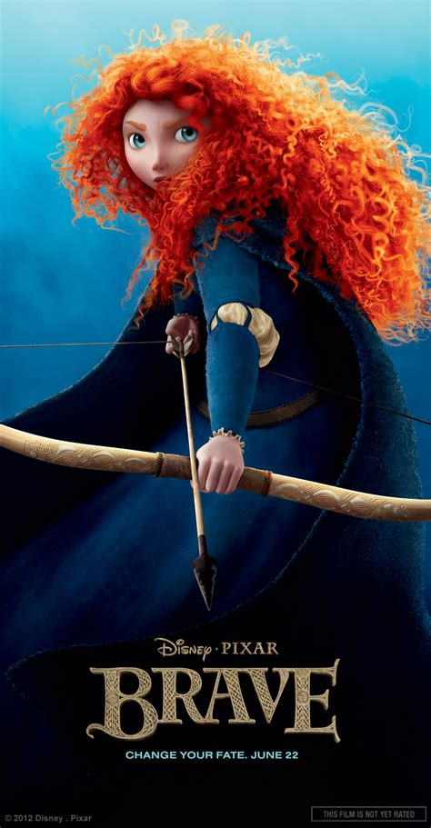 film disney new brave character posters collider