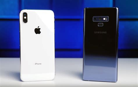 iphone xs max vs galaxy note 9 battery battle which phone lasts longer bgr