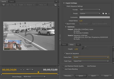 adobe premiere pro hd export settings adobe premiere pro tiff export brightfish digital