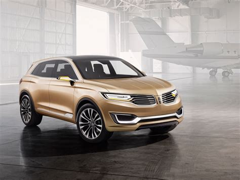 lincoln sports car lincoln unveils the 2016 mkx concept third of four models