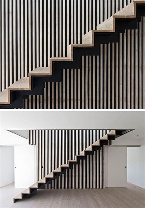 Escalier Bois Et Noir by Escalier Int 233 Rieur Design La Beaut 233 Est Dans Les D 233 Tails