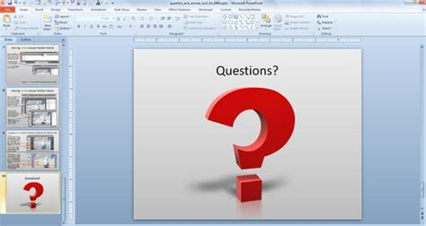 question powerpoint template powerpoint questions and answers template awesome
