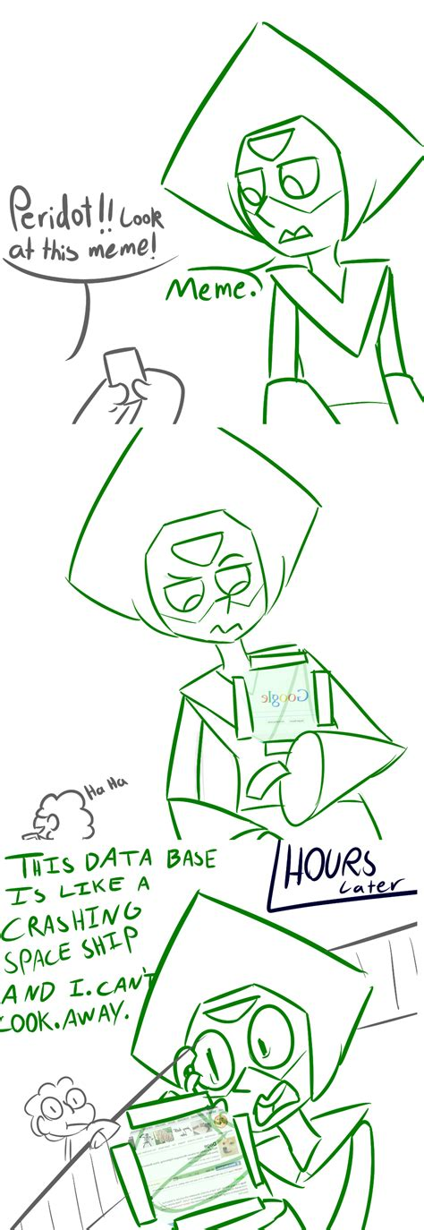 Peridot Memes - peridot discovers know your meme steven universe know your meme
