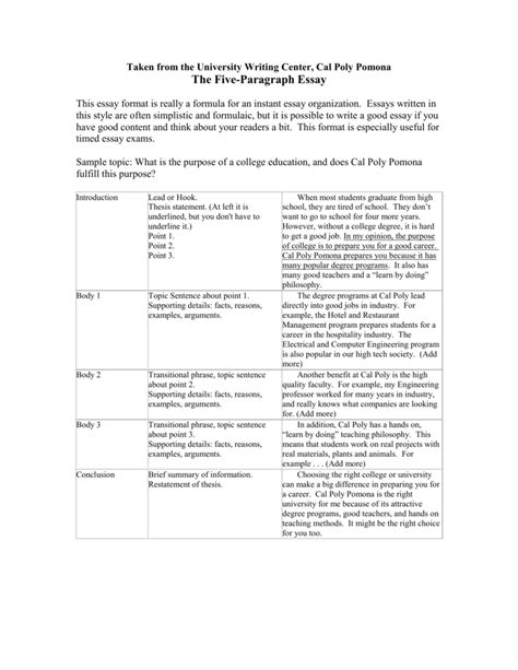 Essay About Carbon Footprint by Formulaic Five Paragraph Essays Bamboodownunder