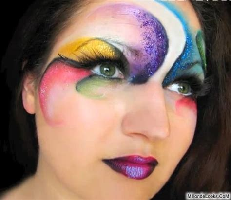 imagenes de ojos fantasia maquillaje de ojos fantasia para hombres