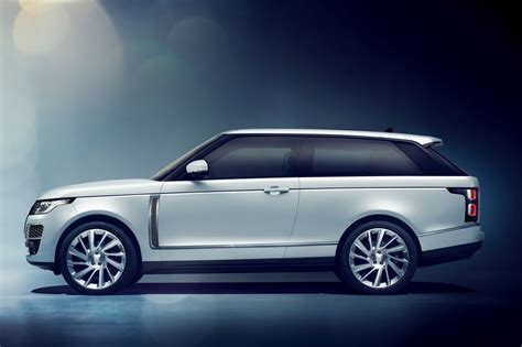 range rover coupe land rover reveals svo built range rover sv coupe evo