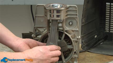 how to replace a piston and cylinder kit in a cbell hausfeld oilless air compressor