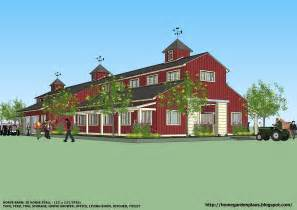 Barn Plans Designs by Home Garden Plans Horse Barns