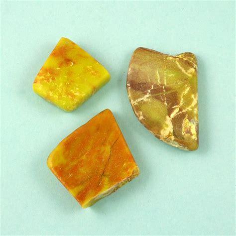 gaspeite tumbled polished gemstones