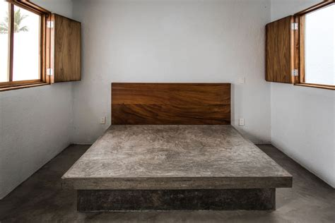 concrete bed house in mexico peter pichler architecture archdaily