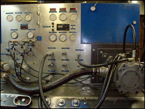 hydraulic pump test bench hydraulic pumps motors