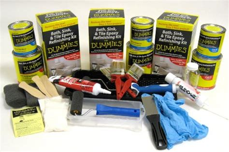 bath sink and tile refinishing kit for dummies diy home improvement bath sink tile epoxy