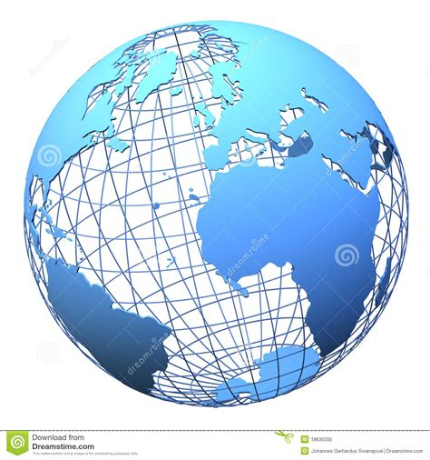 design world definition planet earth wireframe design isolated stock illustration