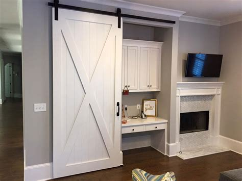 sliding barn door in house home interior barn door track system barn door pantry shed