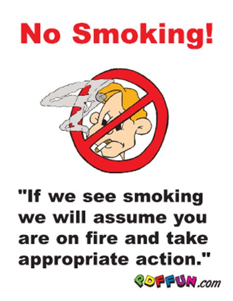 no smoking sign funny funny sticker and meme smoking signs smoke free labels