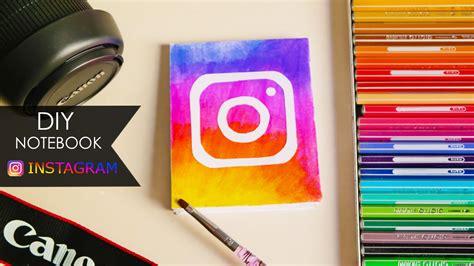 instagram update tutorial diy notebook instagram update youtube