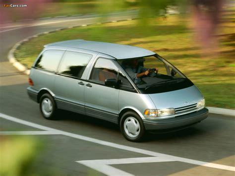 U Of Toyota Images Of Toyota Previa Us Spec 1990 2000 1024x768
