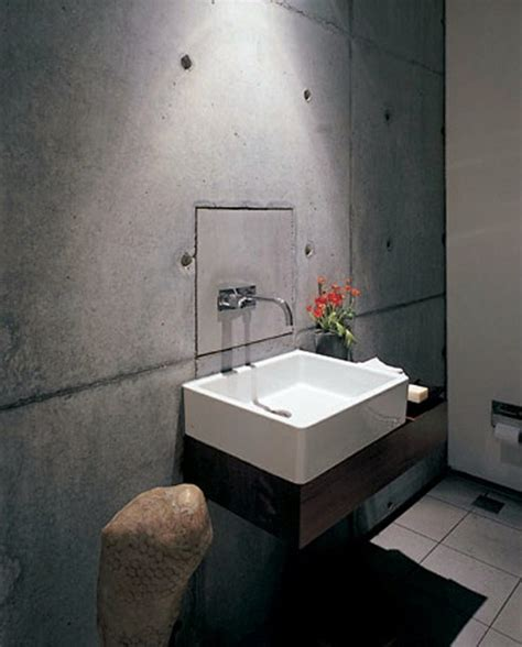 Home Depot Bathroom Tiles Ideas wall color with concrete look walls made of concrete