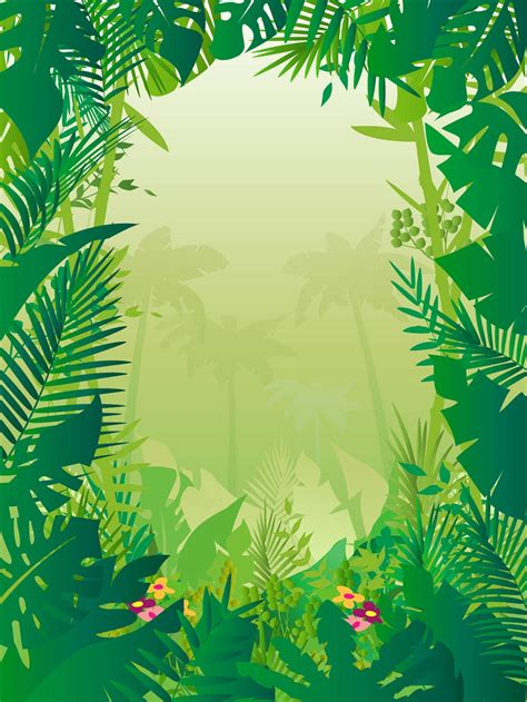 powerpoint templates jungle free jungle background vector art graphics freevector com