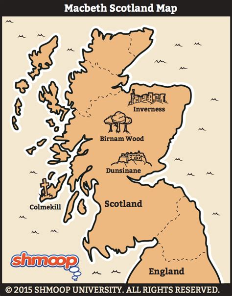hidden themes in hamlet macbeth map of scotland infographics pinterest