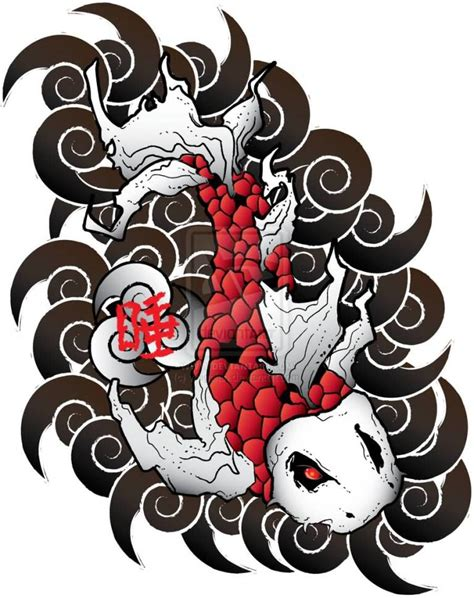 collection of 25 japanese koi fish tattoo design
