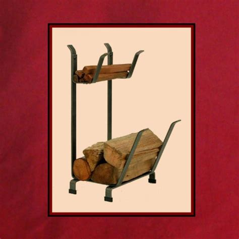 iron wood and kindling holder northshore fireplace