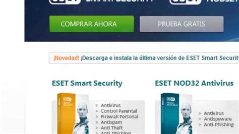 eset ultima version full como descargar eset smart security 7 ultima versi 243 n con